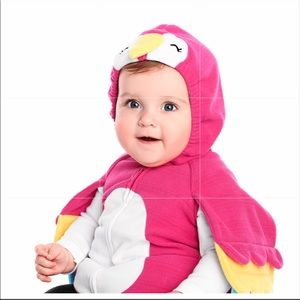 Little Pink Parrot Costume